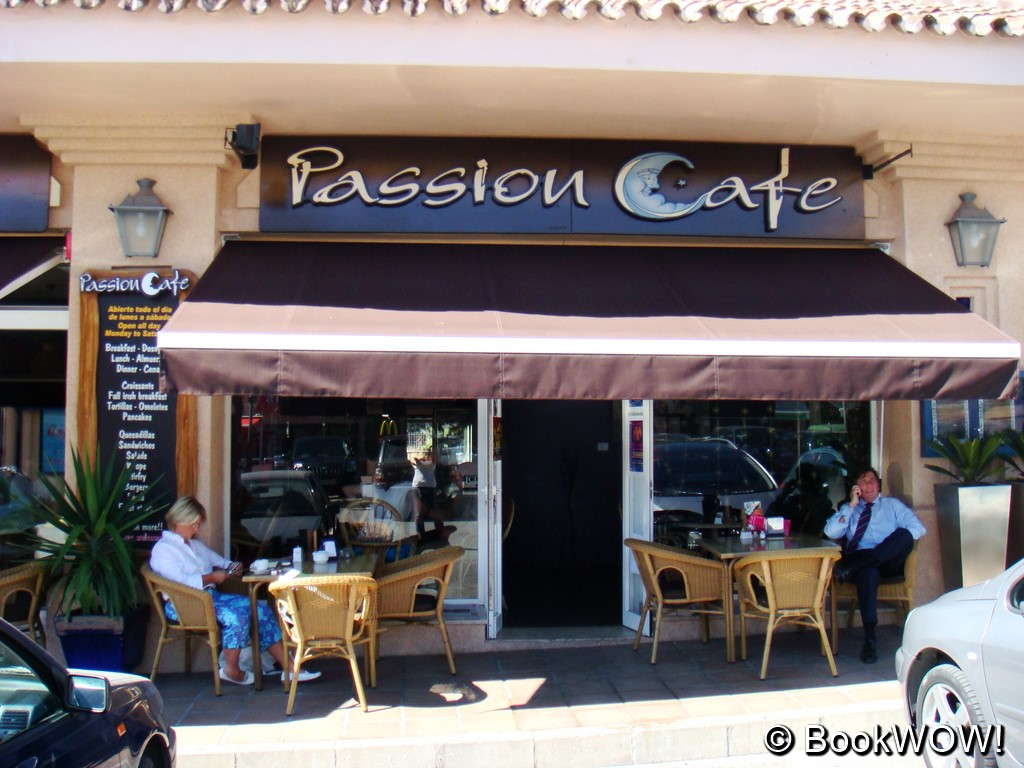 Restaurant in Estepona - Passion Cafe