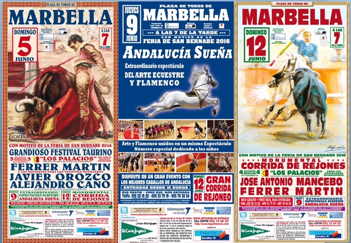 Restaurant in Estepona - Andalusian Horse show (Back Rows 6-15)