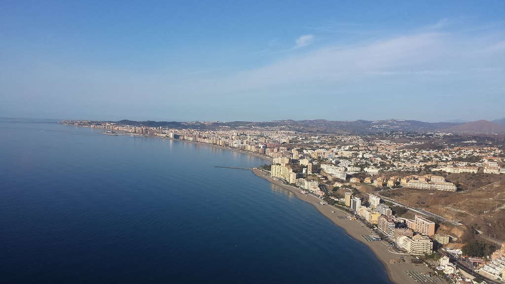 Restaurant in Estepona - Costa del Sol from the air