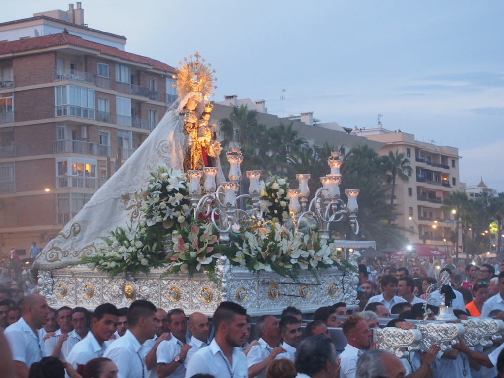 Events and Shows - Virgen del Carmen 16 August