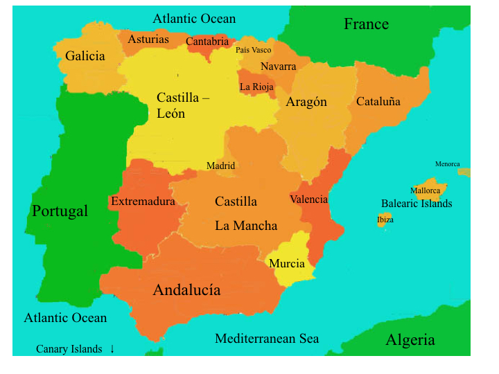 Sightseeing - Information about Spain
