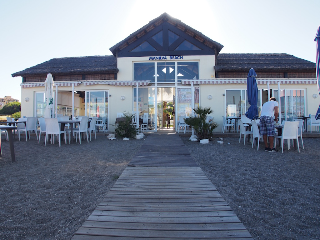Restaurant in Estepona - Manilva Beach